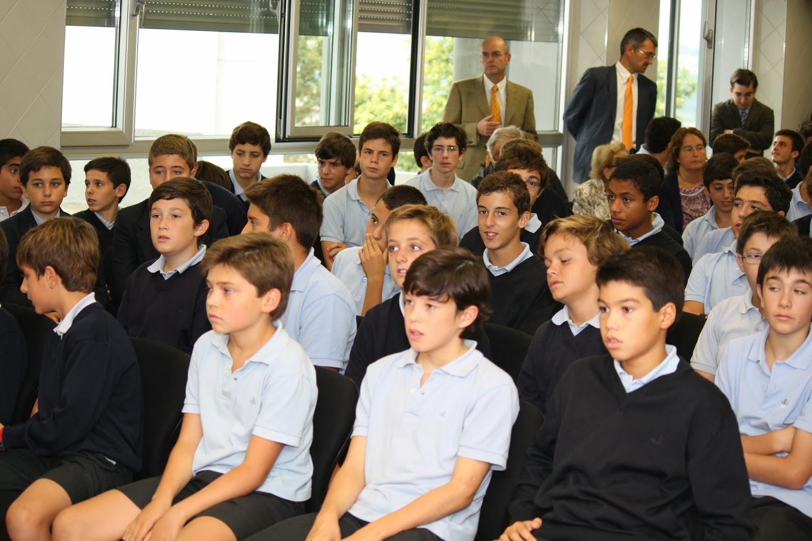 Virgen peregrina colegio montecastelo vigo - Colegio monterrey vigo ...