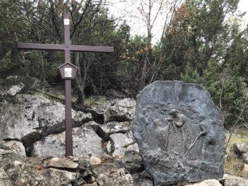 Via Crucis Medjugorje La Veronica limpia el rostro de Jesús