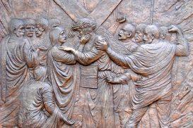Via Crucis Medjugorje: Jesús se encuentra con su madre