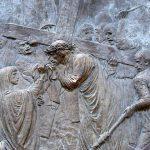 Via Crucis Verónica enjuga el rostro de Jesús