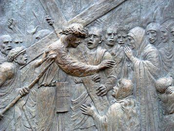 Via Crucis: Jesús habla con las mujeres