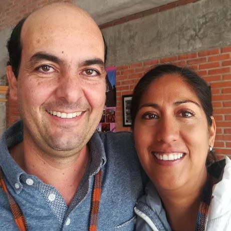 Rogelio Troyo y Sandra Magaña