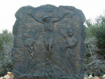 La crucifición del Señor Rosario Medjugorje