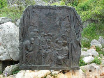 Jesús perdido y hallado en el templo - Rosario Medjugorje